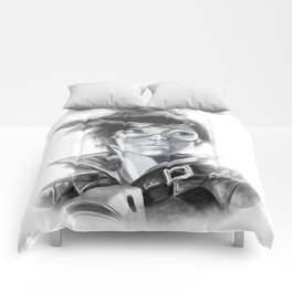 Tracer Greyscale Comforters