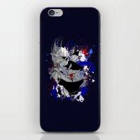 kakashi iPhone & iPod Skins featuring Kakashi Eye by feimyconcepts05