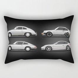 Evolution Of The 911 Rectangular Pillow