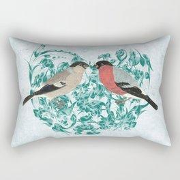 Finding your mate Rectangular Pillow