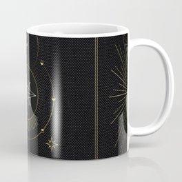 Tarot geometric #3: North star Coffee Mug