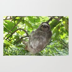 Sloths in Nature Rug