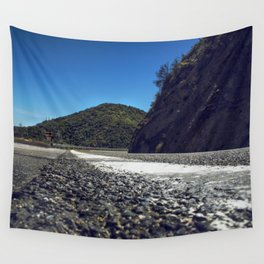 Just around the Bend. Wall Tapestry