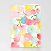 cherry blossom Stationery Cards featuring cherry blossom by zeze