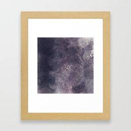 Melancholic Rain Framed Art Print