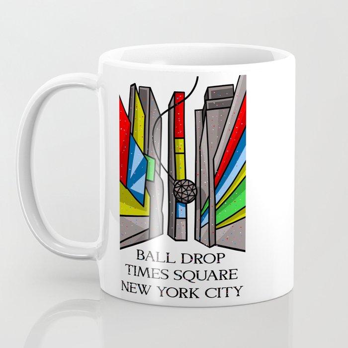 Ball Drop Times Square Coffee Mug