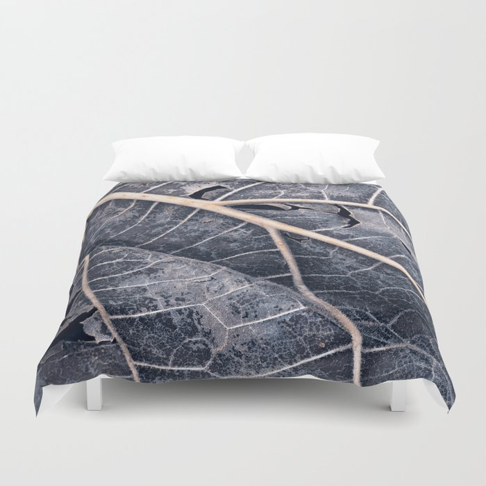 Organic Winter Decay Duvet Cover