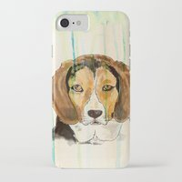 beagle iPhone & iPod Cases featuring Beagle by Tammy Kushnir