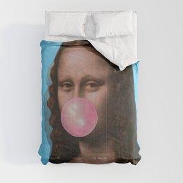 Mona Lisa (Leonardo da Vinci) with Bubblegum Comforters