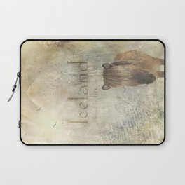 Iceland, forged by fire and ice Laptop Sleeve