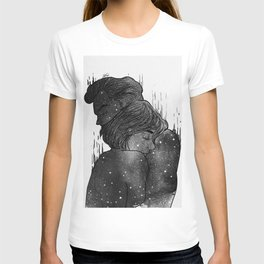 Growing Love black and white. T-shirt