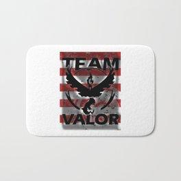 Team Valor Strip Bath Mat