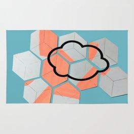 Cloud geometry Rug