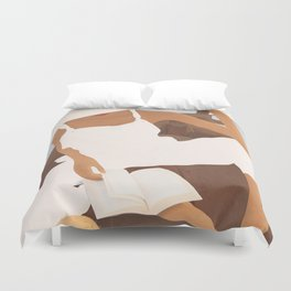 Summer Reading I Duvet Cover
