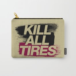 Kill All Tires v5 HQvector Carry-All Pouch