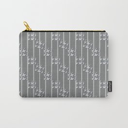 Glen check Carry-All Pouch