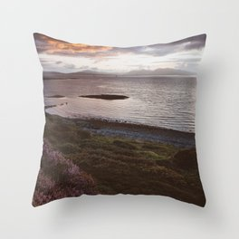 Ganavan Bay - Landscape and Nature Photography Throw Pillow