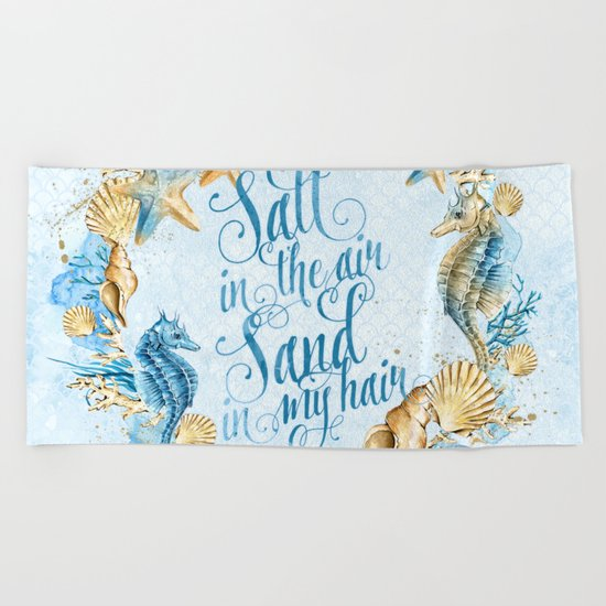 Sea & Ocean #5 Beach Towel