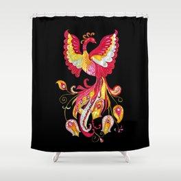 Firebird - Fantasy Creature Shower Curtain