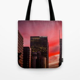 Skyscapes in Los Angeles Tote Bag