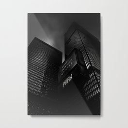 Downtown Toronto Fogfest No 16 Metal Print