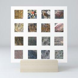 Salt Flats Site Photos Mini Art Print