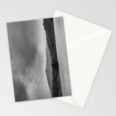 Rainclouds and rain over Rydal Water at dusk. Lake District, UK. Stationery Cards