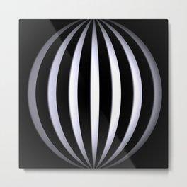 black-and-white -03- Metal Print