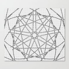 The Da Vinci Wheel Canvas Print