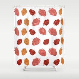 Very Strawberry Shower Curtain