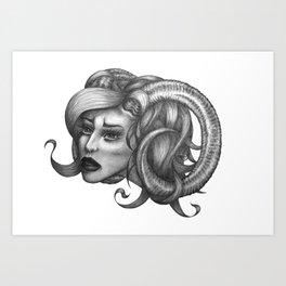 Ram Art Print