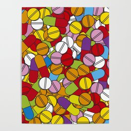 Lots of Pills Poster