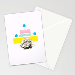 rose Stationery Cards
