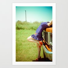 Pin-Up. Art Print