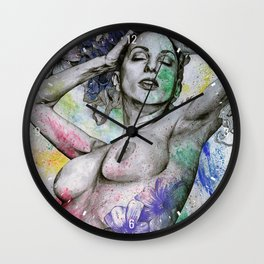Remembering Days Of Yore Wall Clock