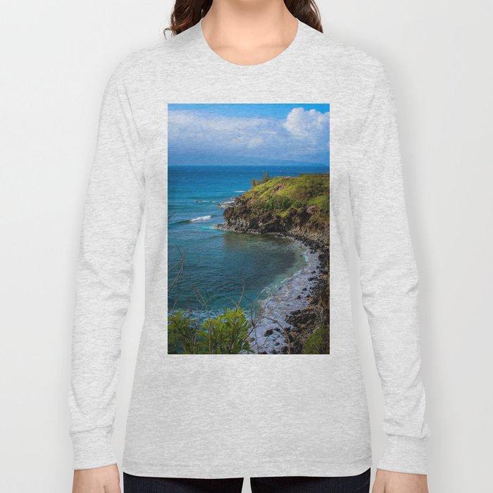 Honolua Bay Long Sleeve T-shirt by katiejosheppard