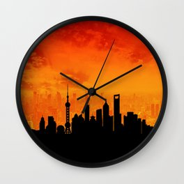 Shanghai Wall Clock