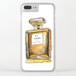 Nº 5 Clear iPhone Case