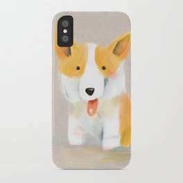 Corgi love iPhone Case
