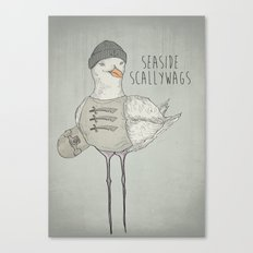 SEASIDE SCALLYWAGS Canvas Print