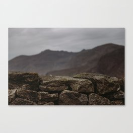 The Mourne Mountains Canvas Print