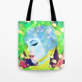 Digital Painting - Hayley Williams - Variation 2 Tote Bag