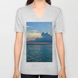 Maldives Sunset Unisex V-Neck