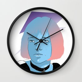 Fan art Mathilda Wall Clock