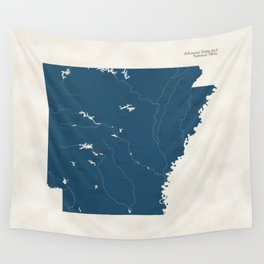 Arkansas Parks - v2 Wall Tapestry