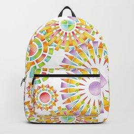 Sunburst Rainbows Backpack