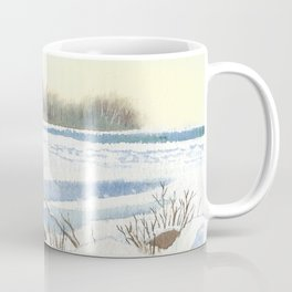 Lake Simcoe, Jacksons Point, Dusk, Jan1st 2013 Coffee Mug