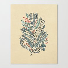 Turning Over A New Leaf Canvas Print