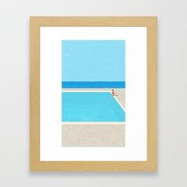 Canicule 5 Framed Art Print