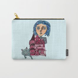 Coraline and Kitty Carry-All Pouch